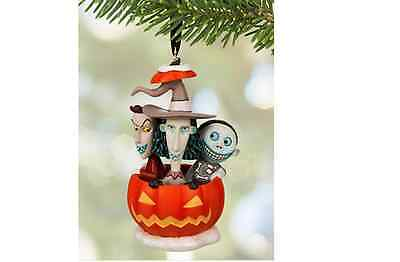 DISNEY 2015 Lock Shock & Barrel Sketchbook Ornament Nightmare Before CHRISTMAS