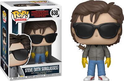 Funko Pop! TV Stranger Things: Steve #638 (w/ Sunglasses) & Free Box Protector