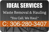 Ideal Services Waste Removal & Hauling (306-280-3407)