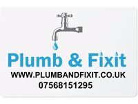 Plumb & Fixit Plumbing service Covers most of Hampshire Fully insured Qualified free quote