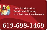 House Cleaning -  Kanata-Stittsville-Orleans-All Ottawa area