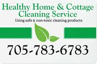 Healthy Home & Cottage Cleaning Services