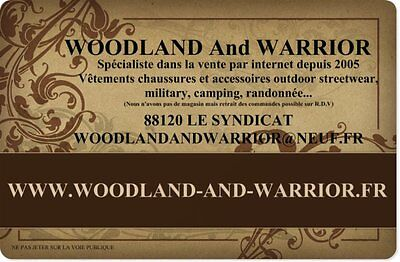 Woodland and Warrior