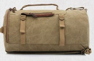 Quality Circle Canvas Backpack