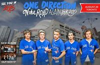 One Direction 1D Upper & Lower Bowl 8 In A Row Below Face Value