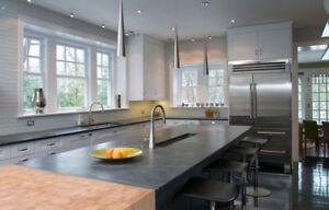 Quartz Granite Countertops Bathroom Kitchen +  Free Vanity!!