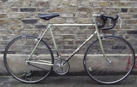 Singlespeed MOTOBECANE french vintage frame - size 22inch, built with new parts WARRANTY