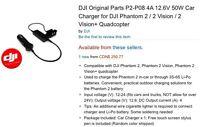 FOUND: DJI Phantom 2 car charger