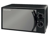 ***NEW***Russell Hobbs Manual Microwave 17 Litre Black RHM1709B-G BLACK COLOR