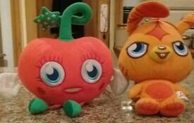 Moshi Monsters soft toys