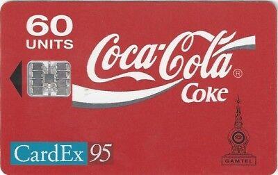 TK 325b Telefonkarte/Phonecard Gambia Coca Cola Cardex Maastricht 1995 gebraucht kaufen  Aachen