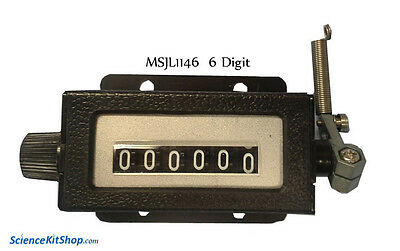 Industrial Mechanical Counter 6 Digit 100s Sold