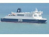Surplus DFDS Multi-Trip Cross Channel ferry tickets - last 2. Use by 27 June latest - £58 /return
