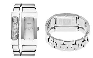 SO & CO New York Women's Bangle Watch with Crystals $695.00