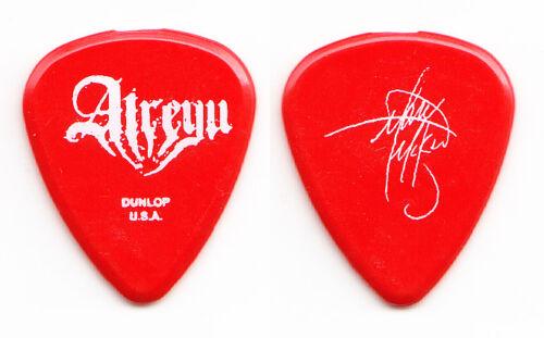 Atreyu Mark McKnight Signature Red Guitar Pick - 2006 Tour