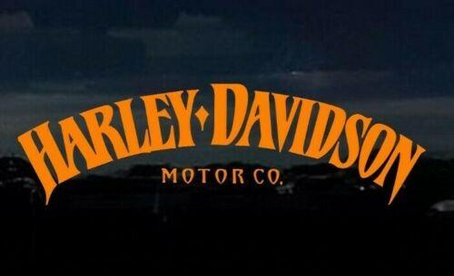 "HARLEY DAVIDSON Decal Logo 8.75""x2.6"" STICKER Car, Motorcycle Truck"