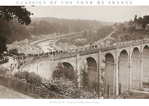 Tour-de-France-Presse-print-Tour-of-the-1920s-cycling-poster-Sports-bicycle-race