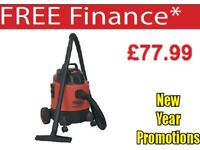 SEALEY PC200 1250W 20LTR VACUUM CLEANER WET & DRY