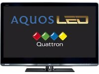 "Sharp Aquos 46""Widescreen Slim LED Full HD(1080p) Internet TV with USB, Remote & Built-in Freeview"