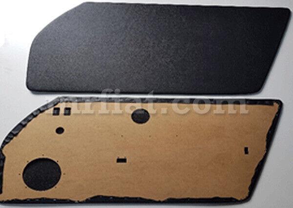 For Porsche 911 964 993 Rs Black Door Panels Speaker Hole Set New