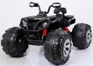 Brand New Huge 24V Children, Baby, Kids Ride On ATV, Mp3 Input, Real Like Stick Shift, High /Low Speed, Forward, Reverse