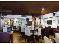 Experienced bubbly floor/bar staff required Mon-Frid (weekends off)
