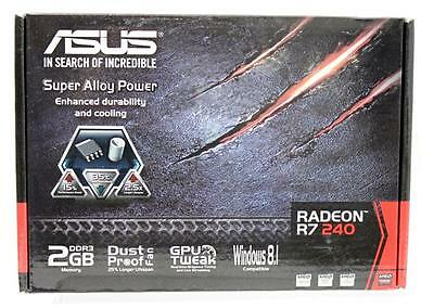 Asus Radeon R7 240 Graphic Card - 730 MHz Core - 2 GB DDR3 SDRAM - PCI Express