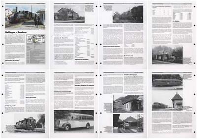 Neben- und Schmalspurbahnen: Haltingen - Kandern |N13-24