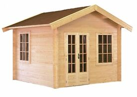 A very good quality garden office at an exceptional price, this Lugarde structure will sell quickly