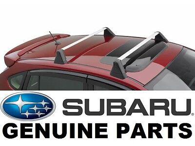 Subaru Impreza, WRX, & STI OEM Fixed Roof Rack Kit Cross Bar Set - E361SFG401