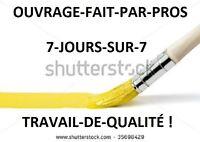 Peintre-Tireur de Joints,25 Ans Exp.$ 20.00 hrs Tél 418-931-9332