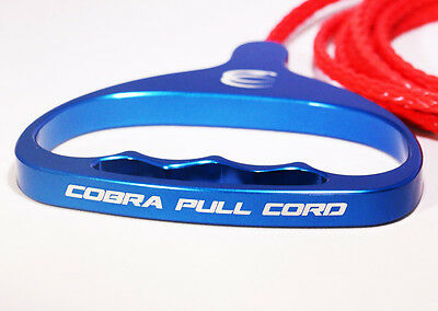 Snowmobile Starter Cord Handle By Cobra Cord - Blue
