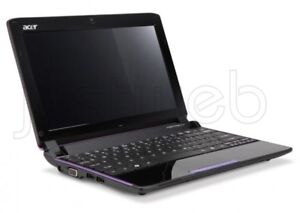 Acer mini Aspire ONE laptop pink color