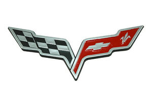 Corvette Flag Emblem Ebay