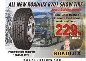 ROADLUX 11R22.5, 11R24.5  DRIVE TIRE