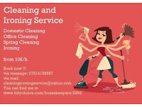 Experienced cleaner looking for new client.