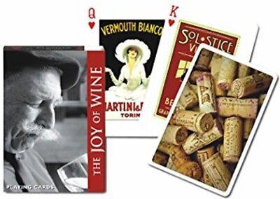 Joy Of Wine set of 52 playing cards + jokers (gib)