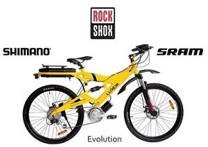 LUXOR EVO Central Drive E-Bikes, electric bikes, mountain bikes
