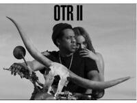 Beyonce & Jay Z OTR II Tour - 2 Seated Tickets-London