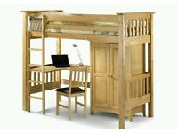 Bed sitter bunk bed