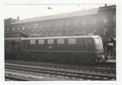 "E-Lok E 41 118 der DB, Saarbrücken Hbf - SW Foto 10x15 cm ""Fo170"