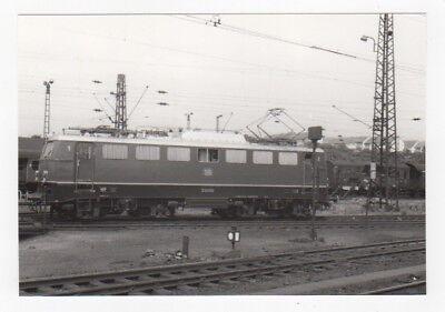 """E-Lok E 40 202 der DB - SW Foto 10x15 cm """"Fo171"""