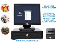 """All in one ePOS system, 15"""" touch screen brand new, complete package"""