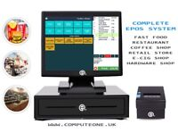 """ePOS, POS cash register, all in one 15"""" touch screen system"""