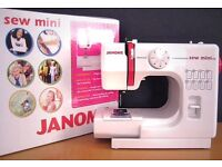 Brand new boxed mini Sewing machine janome