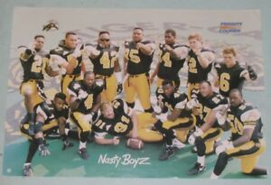 "Hamilton Tiger-Cats ""Nasty Boyz"" year ?"