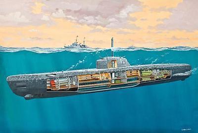 Revell Deutsches U-Boot Typ XXI mit Interieur 1:144 Revell 05078  X