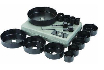 SET SEGHE A TAZZA 16 PEZZI  PER LEGNO CARTONGESSO PLASTICA 19 -- 127 mm