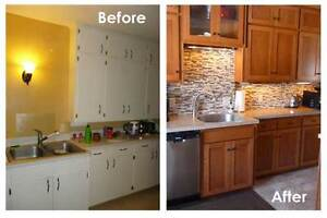 Wood and MDF Cabinet Doors/ Refacing cabinets Peterborough Peterborough Area image 10