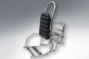 Vespa Lambretta LML Rack 4 in 1 Carrier Backrest 3 in 1 Stainless